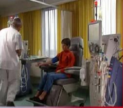 Durchführung der Dialyse